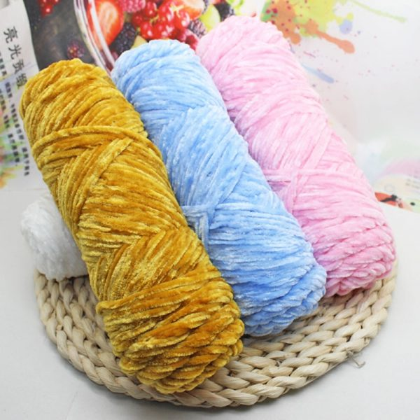 Chenille-yarn