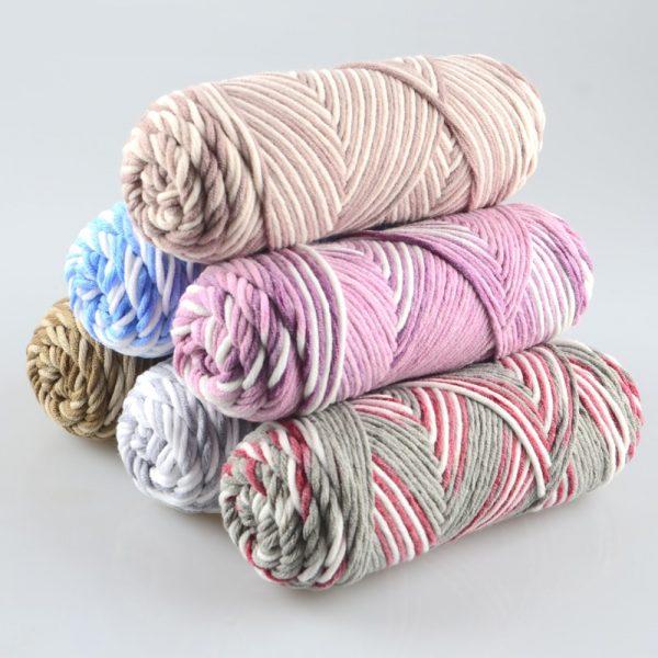 Cotton-Milk Fiber- yarn